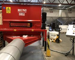 Recycling plant EPS compaction RUNI